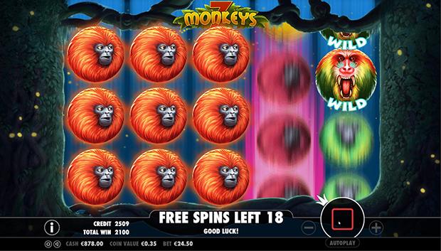 7 monkeys gewinnkombination