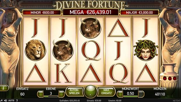 netent paypal casino divine fortune übersicht