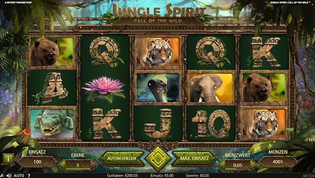 netent paypal casino jungle spirit übersicht