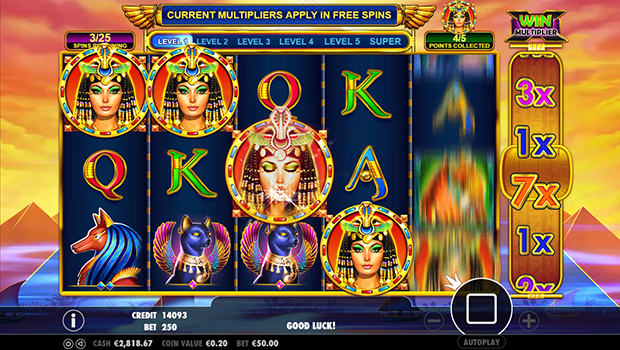pragmatic play paypal casino queen of gold feature