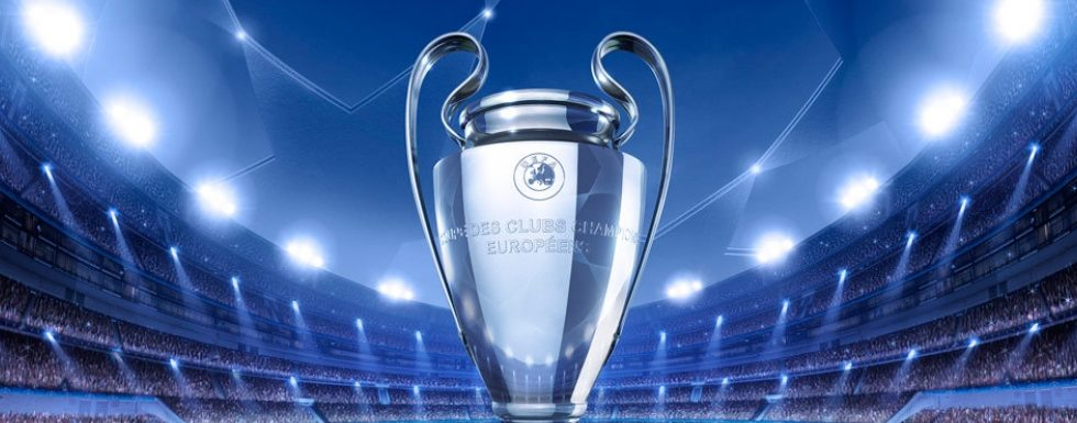 champions league pokal promo banner