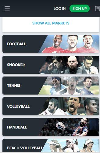 Sportwetten PayPal Betvictor Smartphone