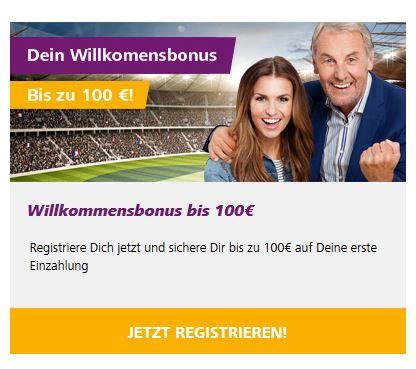 Sportwetten PayPal HappyBet Bonus