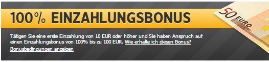 Sportwetten PayPal Racebets Bonus