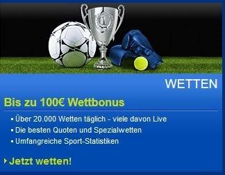 Sportwetten PayPal mybet Bonus