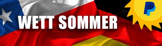 Wett Sommer Chile vs Deutschland