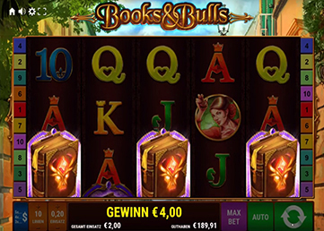 books and bulls paypal casino freispiele