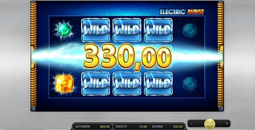 electric burst spielen