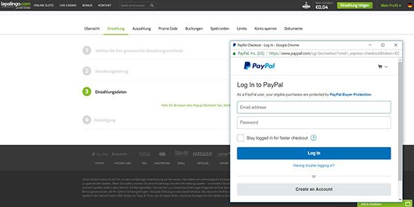 lapalingo-einzahlung-paypal