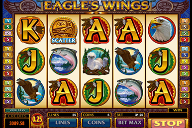 microgaming paypal casino eagles wings übersicht