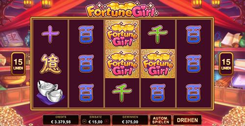 microgaming fortune girl übersicht