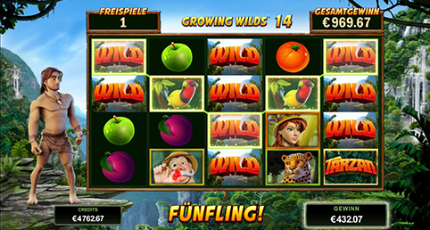 microgaming tarzan gewinn wilds