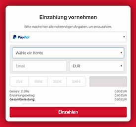 Online Casino Einzahlung Paypal