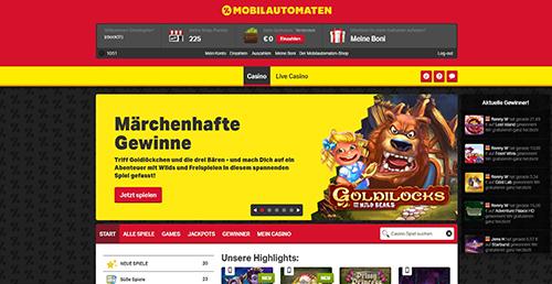 mobilautomaten paypal casino übersicht