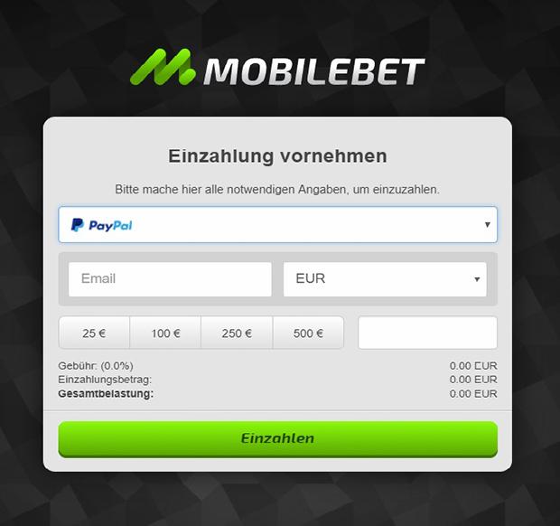 Online Casino Mit Paypal Einzahlung