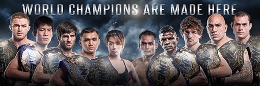 MMA ONE Championship banner