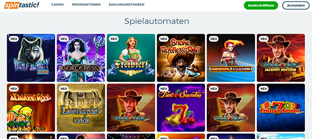 Spintastic Paypal Casino Slots