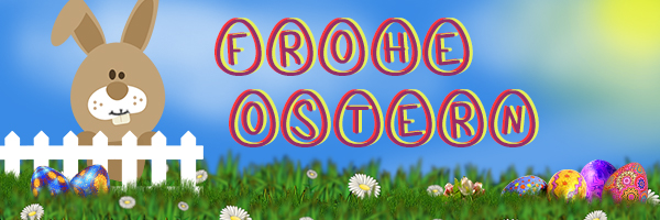 frohe ostern blog banner