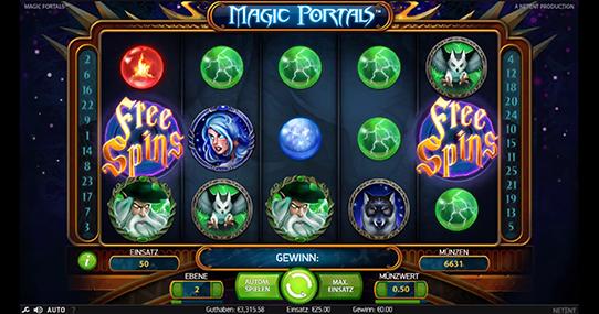 magic portals von netent uebersicht