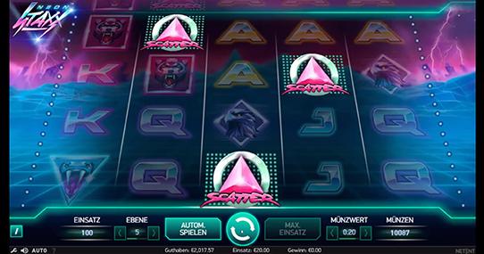 Jetzt Neon Staxx im online Casino von Casumo spielen