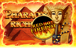 pharaohs riches online spielothek red hot firepot logo