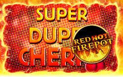 super duper cherry online spielothek red hot firepot logo