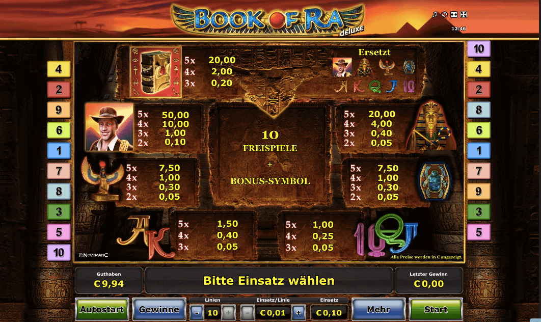 book of ra neues casino