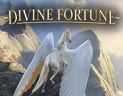 divine fortune netent slot logo