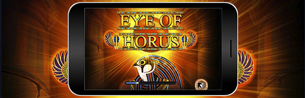 eye of horus merkur online casino slot mobile banner
