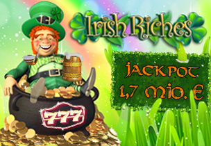 online casino slot lucky irish jackpot logo