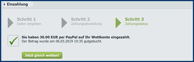 bet at home paypal online casino einzahlung mit paypal erfolgreich