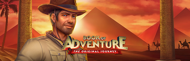 book of adventure slot novoline spieleanbieter teaser banner