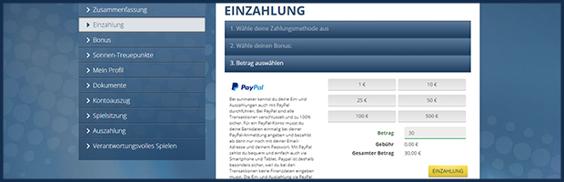 sunmaker paypal online casino einzahlen mit paypal