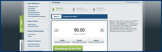 bet at home paypal wettanbieter einzahlung mit paypal banner