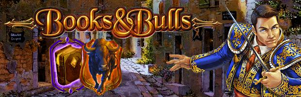 books and bulls slot bally wulff gamomat spieleanbieter teaser banner