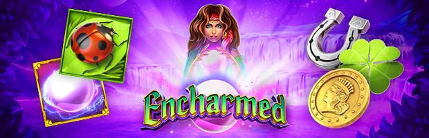 encharmed slot symbols stakelogic novoline spieleanbieter teaser banner