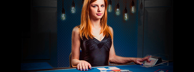 live casino poker banner