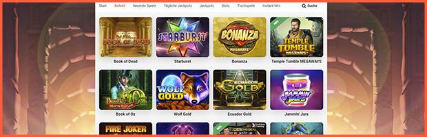 leovegas online casino spieleauswahl banner