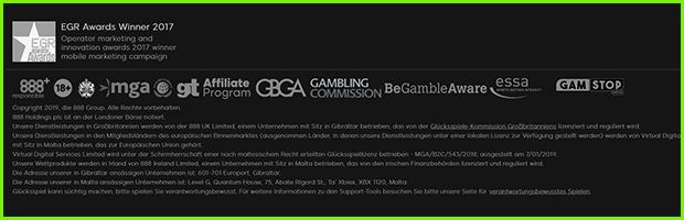 888sport casino und sportwetten sicherheit