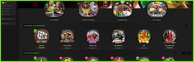 888sport casino und sportwetten spielangebot