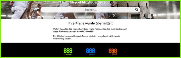 888sport casino und sportwetten support