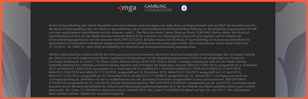 leovegas online casino mga lizenz sicherheit banner