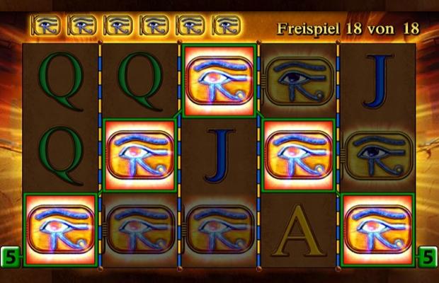 eye of horus online merkur slot ziel der freispiele das letzte symbol erreichen