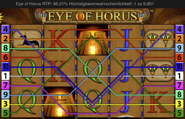 eye of horus online merkur slot übersicht der slot