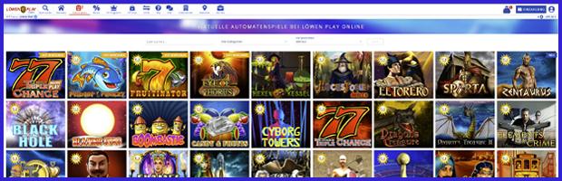 Löwenplay online casino spieleauswahl
