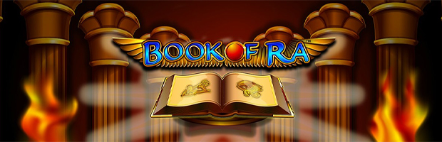 book of ra novoline slot banner