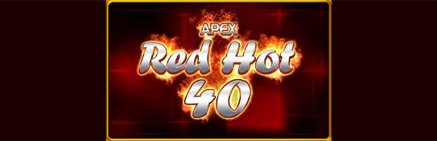 apex red hot 40 novoline slot logo banner