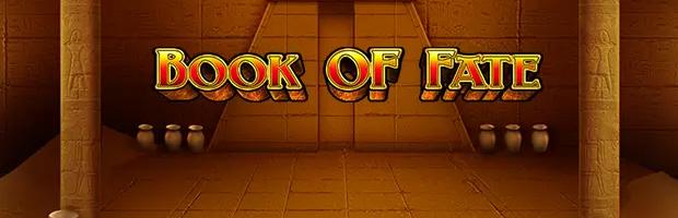 book of fate novoline slot logo banner