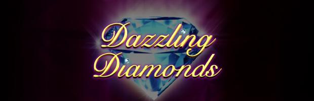 dazzling diamonds novoline slot logo banner